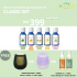 Natural Aromatherapy Essential Oil [Classic Set]