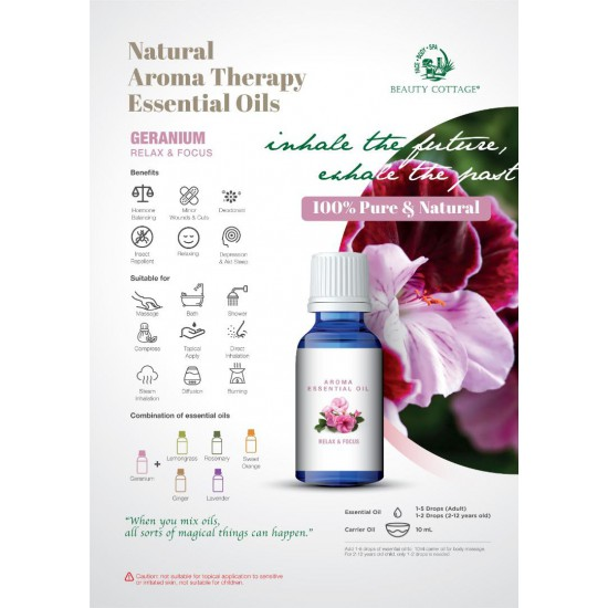 Natural Aroma Therapy Essential Oil [Relaxing Series]