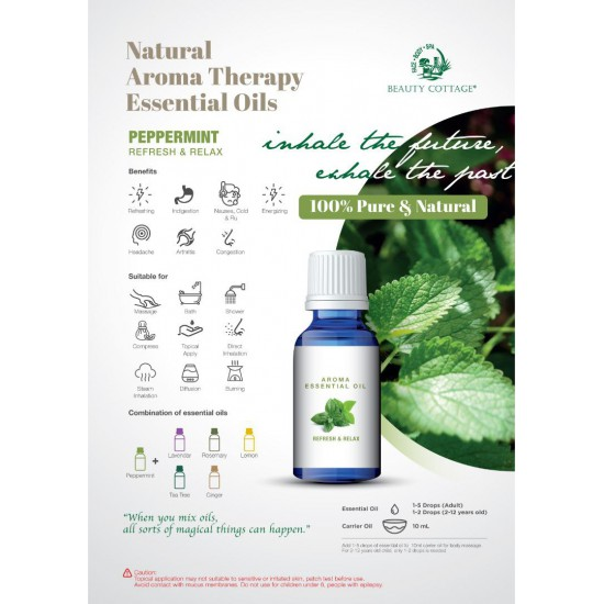 Natural Aroma Therapy Essential Oil [Cold & Flu Series]