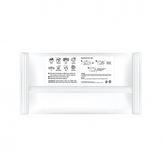 HYGINKLEEN Multi Surface Sanitizeing Alcohol Wipes