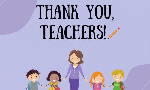 Thank you, Teacher.