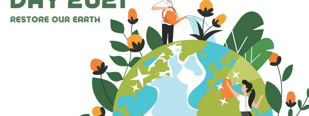 世界地球日 – 修复我们的地球