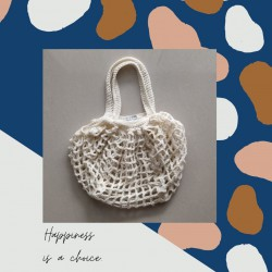 Crochet Bohemian Netting Bag