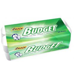 Budget Toilet Rolls 20 Roll
