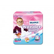 Diapex Wonder Pants Baby Diapers [Convenient Pack]