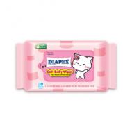 Soft Baby Wipes 30'S