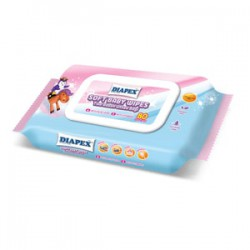 Soft Baby Wipes 80'S