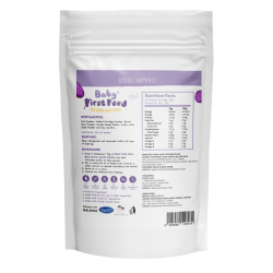 Baby First Feed Rice Cereal [Purple Sweet Potato]