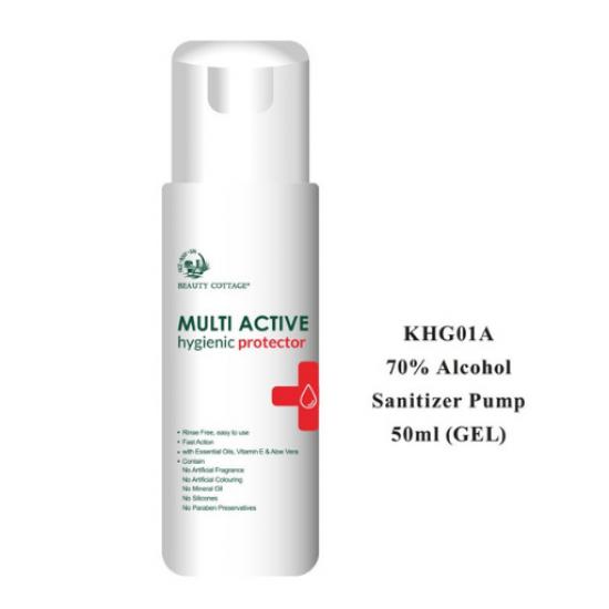 Multi Active 70% Alcohol Sanitizer (Gel)