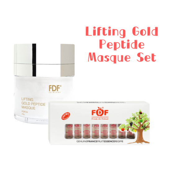 Lifting Gold Peptide Masque Set