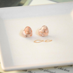 Handmade Stones Ear Studs - EARTH FAIRY