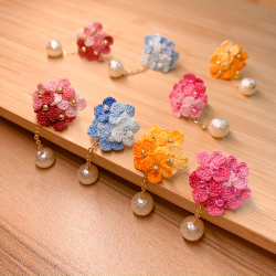 Handmade Crochet Earring