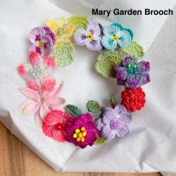 Handmade Crochet Brooch