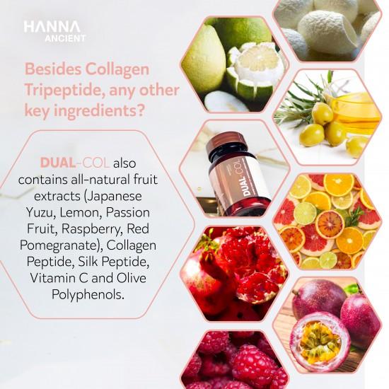 DUAL-COL [Collagen Peptide + Collagen Tripeptide ]