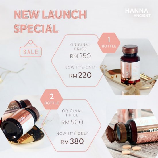Mother's Day Special Promo - DUAL-COL [Collagen Peptide + Collagen Tripeptide ]