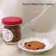 Rum & Raisin Oat Cookies
