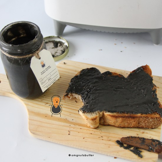 Black Sesame Peanut Butter