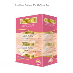 3Ply Twin Tone Facial Tissue