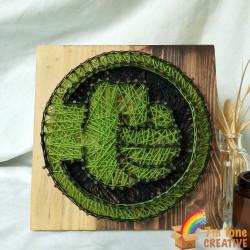 Avengers The Hulk String Art Kit for Art Craft