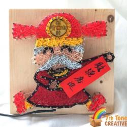God of wealth String Art Kit for Art Craft