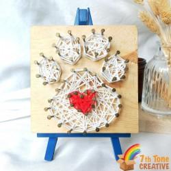 Animal Elements String Art Kit Set for Art Craft