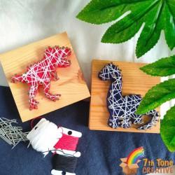 Dinosaur String Art Kit for Art Craft