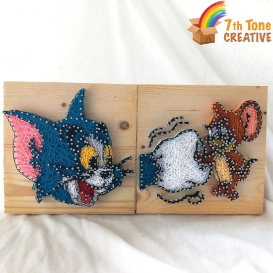 Tom and Jerry String Art Kit