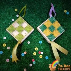 Ketupat String Art Kit for Art Craft