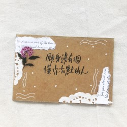 Customize Handmade Greeting Card