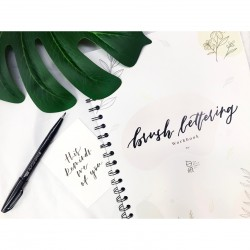 Brush Lettering Workbook