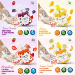 Anti-Bacterial Fruit Scents Hand Wash