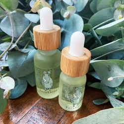 Homemade Pure Essential Oil made from Home-grown Eucalyptus