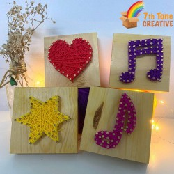 Basic String Art Kits for Art Craft