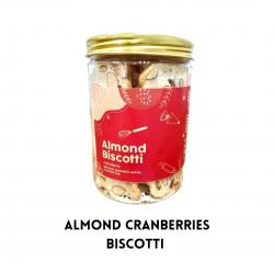 Almond Cranberries Biscotti