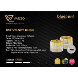 657 VANZO 'Mini'ature 【Velvet Musk】