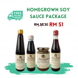 Homegrown Soy Sauce Package