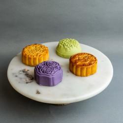 4 Pieces of Mid-Autumn Mooncakes