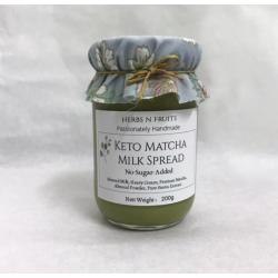 Keto Matcha Milk Spread