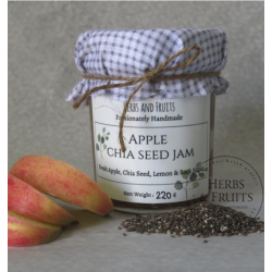 Apple Chia Seed Fruit Jam